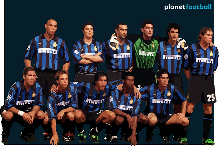Inter Milan 1997 team illustration