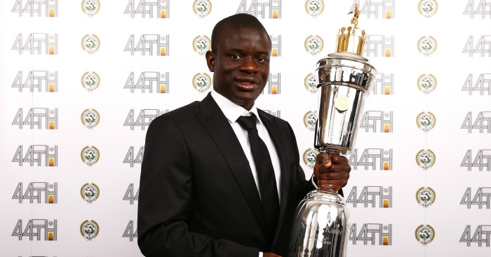 Image result for n'golo kante player of the year