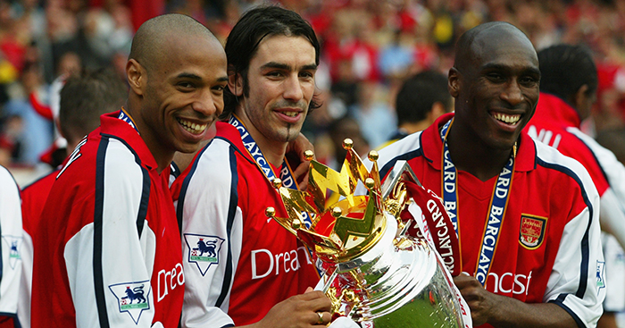 A Tribute To Arsenal S Amazing Double Winning Team Of 2001 02 Planet Football