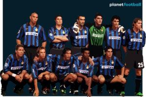 Inter Milan 1997 team illustration