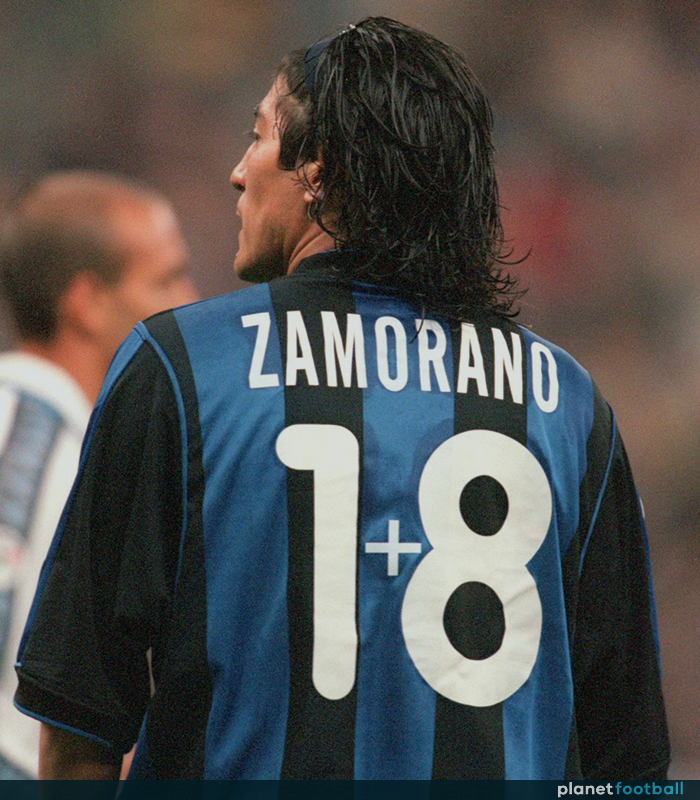 Ivan Zamorano, Inter Milan - Planet Football