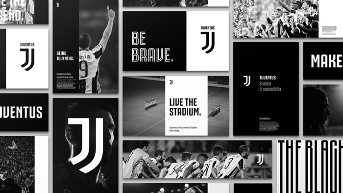 the old lady in a new dress a defence of juve s new logo planet football planet football