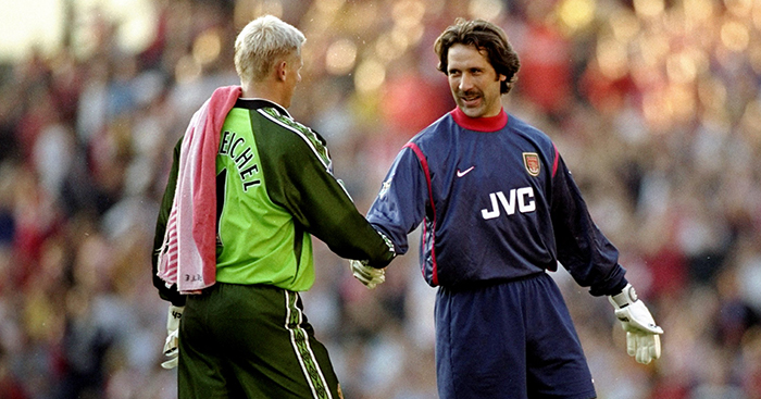 7bf342a1bdc The 10 best goalkeepers of the 90s  Schmeichel
