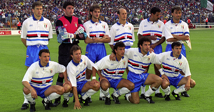 d6d3f42d38a4f4 Fallen Giants: A tribute to the great Samp of Vialli, Mancini, Lombardo & co