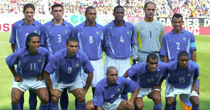 reputable site deecd 5b058 Where are they now? Brazil's XI that won the 2002 World Cup ...