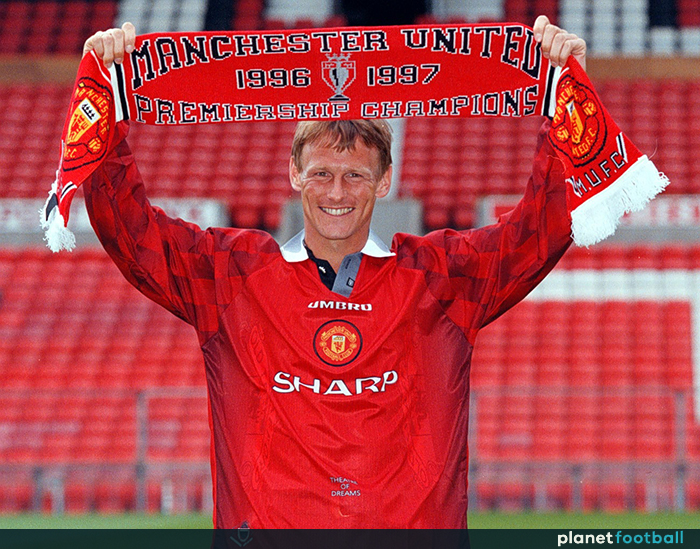 2f9a043134c How Teddy Sheringham won over Man Utd fans as The King s replacement ...
