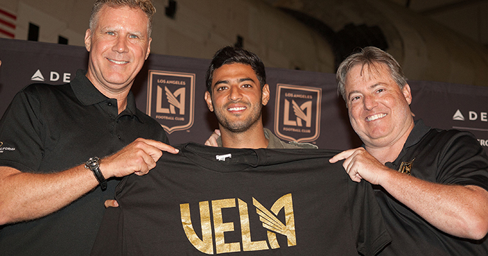 the best attitude 26a8a 15b89 Will Ferrell, Bob Bradley, Carlos Vela and the story of LAFC ...
