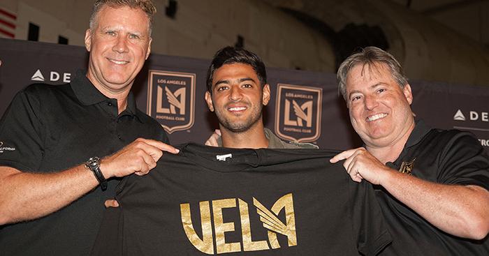 6d3add17efc Will Ferrell, Bob Bradley, Carlos Vela and the story of LAFC, MLS' newest  club - Planet Football