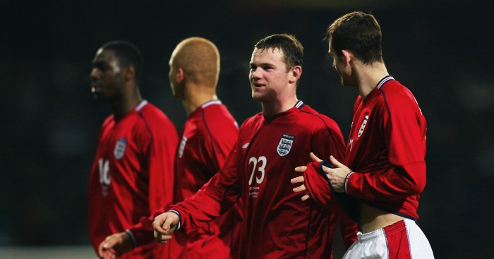 Where are they now? Wayne Rooney's England debut team