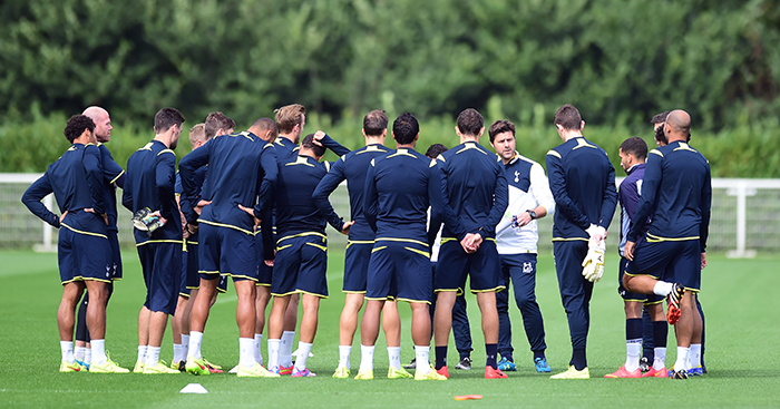 Mauricio Pochettino Tottenham Training 2014 Planet Football