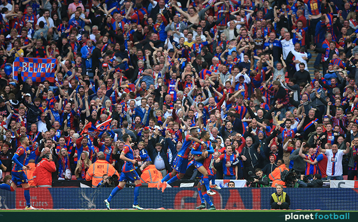 Jason Puncheon goal Crystal Palace FA Cup final 2016