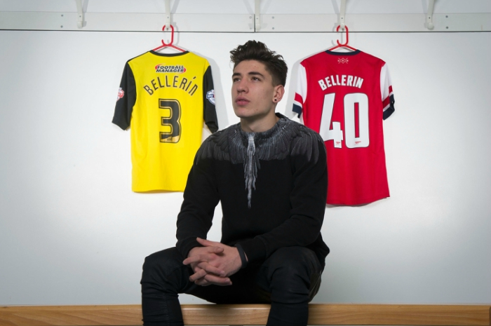 outlet store abf85 f6536 Hector Bellerin's evolution from geeky teen to fashion icon ...