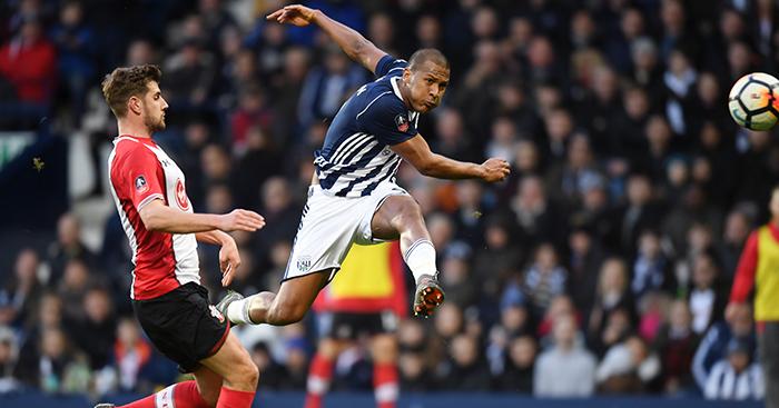 1467ab27fb1a Salomon Rondon goal West Brom Southampton - Planet Football