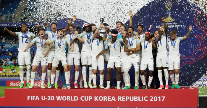 Where Are They Now England S 2017 Under 20 World Cup Winners Planet Football