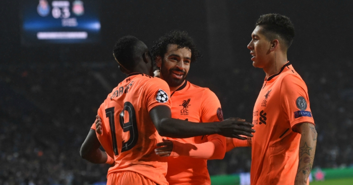 How the stats of Liverpool's front three compare to the best in
