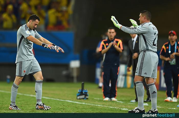 David Ospina Faryd Mondragon Colombia World Cup 2014 - Planet Football f8bb506ca