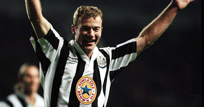 wholesale dealer 30857 44c00 Alan Shearer reveals his first football shirt and the ...