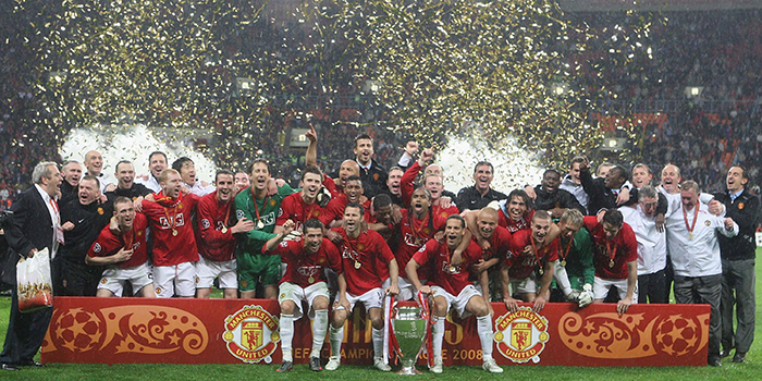 Manchester United Champions League Winners 2008 Planet Football
