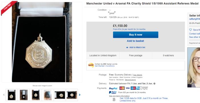 14 of the weirdest football items on eBay: Clubs, awards