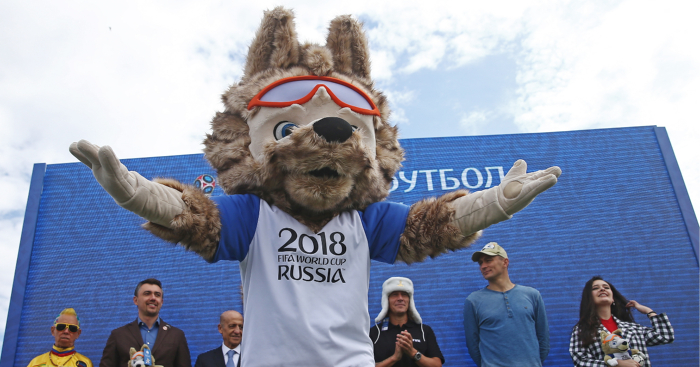 24969e1a8 Ranking every World Cup mascot ever  Zabivaka