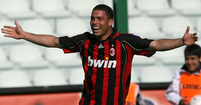 Rivaldo Ronaldo Ronaldinho Milan S Mixed Success With The Three Rs Planet Football