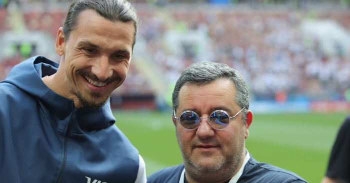 Image result for Mino Raiola Zlatan