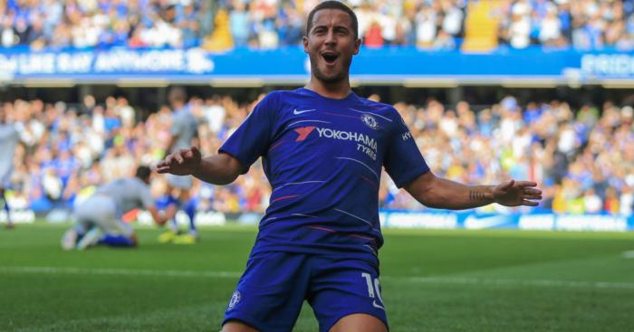 wholesale dealer d9675 ff456 Nine of Eden Hazard's most memorable moments for Chelsea ...