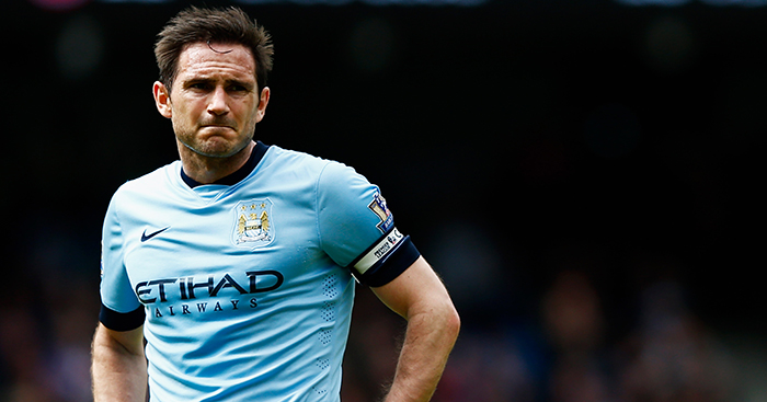 Frank Lampard At Man City A Pleasing Purple Patch From Out Of The