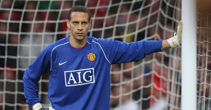 7c4f3a9fdcc 11 brilliant times outfielders went in goal  Ferdinand