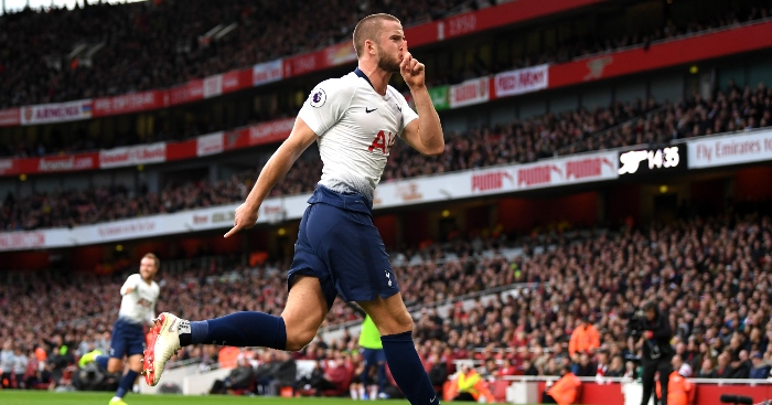 https://d3nfwcxd527z59.cloudfront.net/content/uploads/2018/12/02150725/Eric-Dier-Tottenham-Celebration-Arsenal-North-London-Derby.jpg