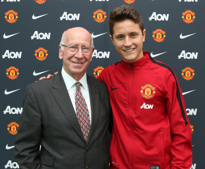 Ander-Herrera-Sir-Bobby-Charlton-Manchester-United