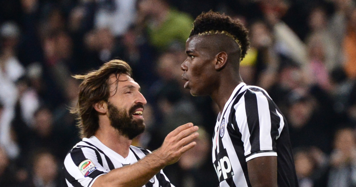 A Ridiculously Good Xi Of Free Transfers Signed By Juventus Pirlo Alves Pogba Planet Football