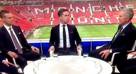 Graeme Souness shouts at David Jones on Sky Sports