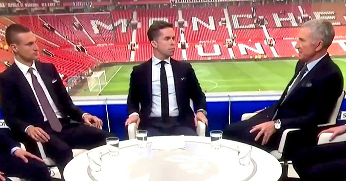 Graeme Souness shouts at David Jones on Sky Sports