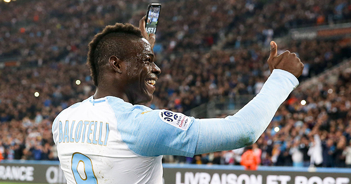 Mario Balotelli's Instagram goal celebration, Marseille vs Saint-Etienne