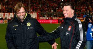 Jurgen-Klopp-Louis-van-Gaal-Borussia-Dortmund-Bayern-Munich