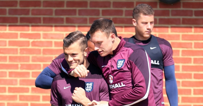 Jack-Wilshere-Phil-Jones-England