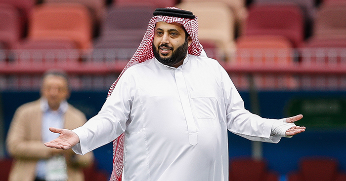 Saudi Minister of Sports Turki Al Sheikh