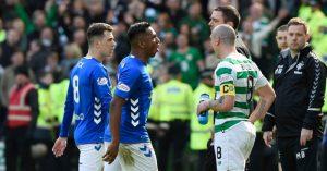 Alfredo-Morelos-Scott-Brown-red-card-Rangers-Celtic