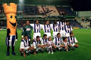Real Valladolid mascot Pucelo