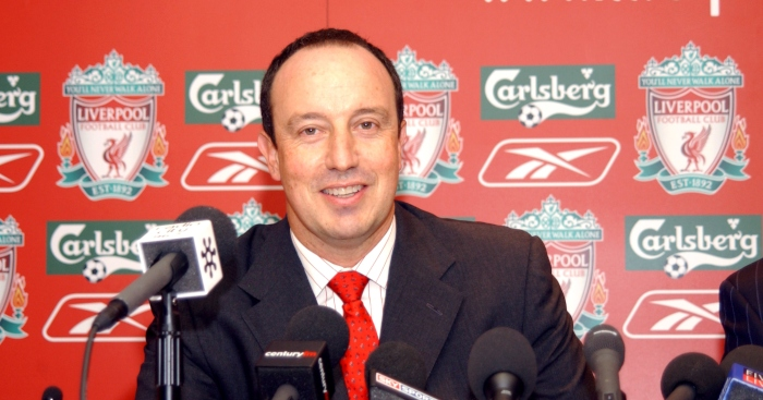 Can you name Rafa Benitez's 30 most-used players at Liverpool?