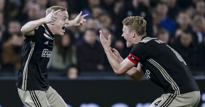 Matthijs-de-Ligt-Donny-van-de-Beek-Ajax
