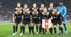 Ajax team v Juventus, Champions League