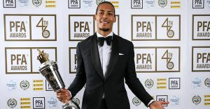 Virgil van Dijk, PFA Player of the Year
