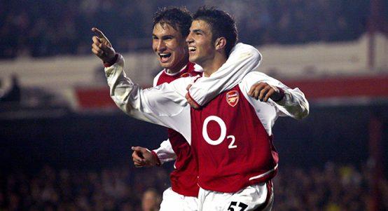 Cesc Fabregas Michal Papadopulos, Arsenal 2003