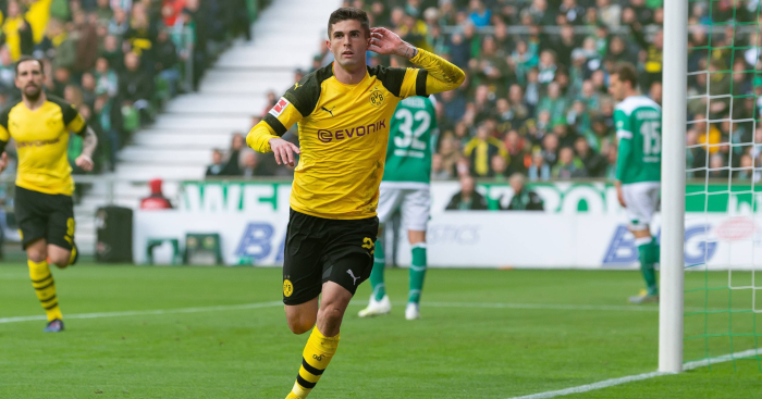 the latest 62dd6 92893 Christian Pulisic scored a goal so quick even Jadon Sancho ...