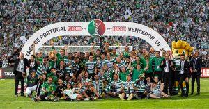 Sporting, Portuguese Cup winners 2019