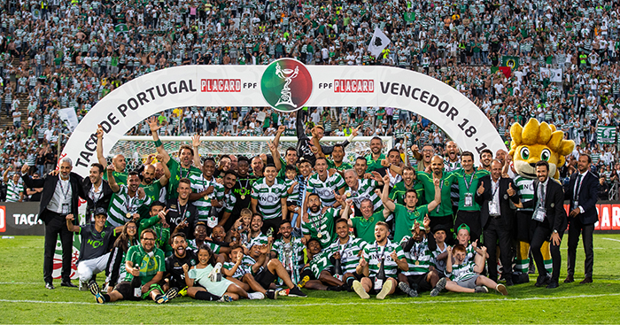 Sporting, Portuguese Cup winners 2019
