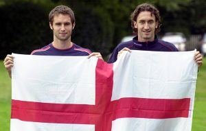 Mark Wilson and Jonathan Greening, England Under-21