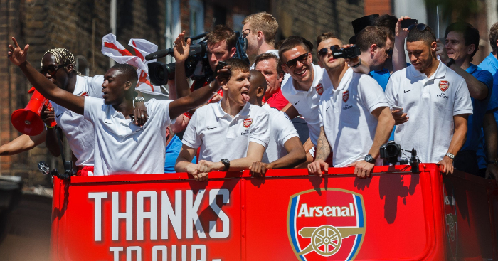 Where Are They Now Arsenal S Fa Cup Winners From 2014 Planet Football